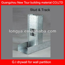 Drywall Galvanized stainless steel channel profile