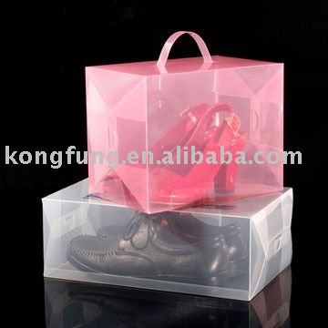 clear acetate stationery pvc packaging box