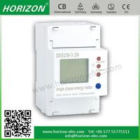 DDS238-3 ZN 3 module RS485 MODBUS-RTU single phase electric meter price 3P