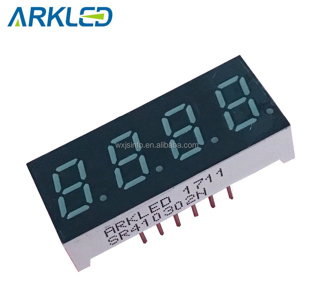 indoor small 4 digits segment LED Display module