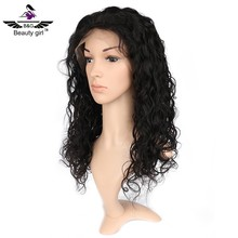 Human hair short bob lace front wig brazilian hair wig sewing machine