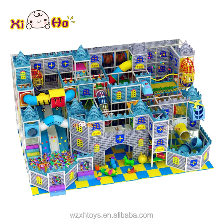 Popular Design Cheap Indoor Children Soft Playground Entertainment Equipment