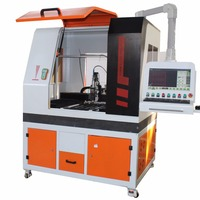 Gold silver cnc fiber laser cutting machines price with 3 year warranty