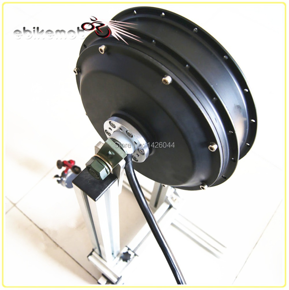 48v-96v 5000w brushless gearless hub motor for electric bike , 5kw electric bike hub motor