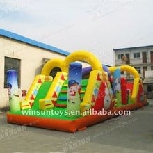 2012 Promotion Inflatable Sports Games,Inflatable Obstacle Course