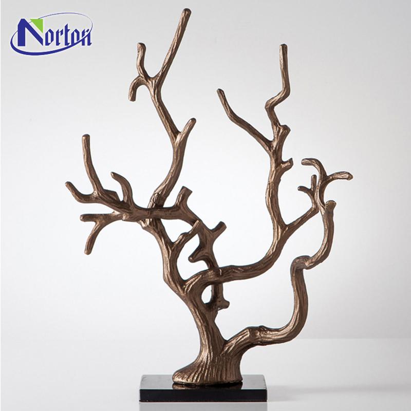 Große Wandkunst Skulptur Modernes Dekor Bronze Baum Skulptur Nt ...