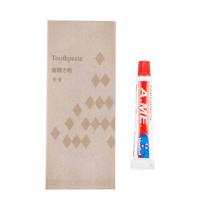 Hotel Travel dental Kit Disposable A.ME Toothpaste with package