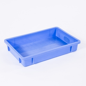 No. 4 Plastic Tray Food Grade HDPE Plastic Rectangle Food Tray for Hospital
