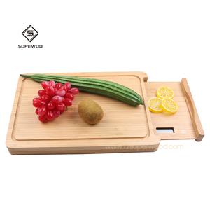 Sopewod  Multifunctional Modern Smart Bamboo Household Food Weighing Digital  Kitchen Scale