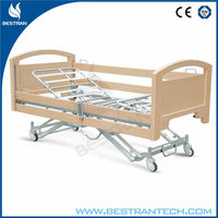 BT-AE026 Wood Frame electric long time care beds