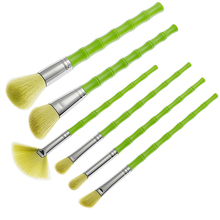 Synthetische haar lange <span class=keywords><strong>griff</strong></span> make-up pinsel make-up set kosmetik make-up pinsel bambus <span class=keywords><strong>griff</strong></span> pinsel sets