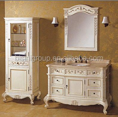 French Style Bathroom Vanity Set Antique White Bathroom
