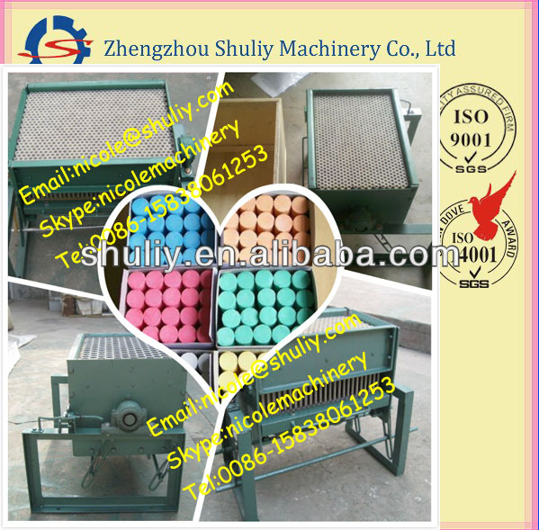 White chalk producing machine/school chalk making line 0086-15838061253