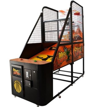 Muntautomaat IndoorCommercial Straat Basketbal Arcade Game Machine