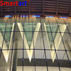 exterior aluminum Glass Wall Prices / Frameless Glass Curtain Wall