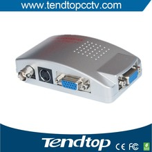 Top sale cctv accessories VGA TO BNC (AV) convertor