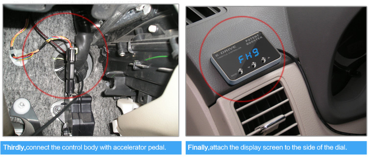 Ts-567 Led Screen Car 6-mode Throttle Controller For Toyota Hilux ...