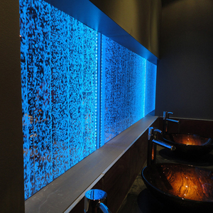 Fantastic LED acrylic water featuer for home decoration, innovative bubble waterfall