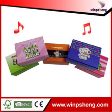 2015 customized recordable anime music box of Europe