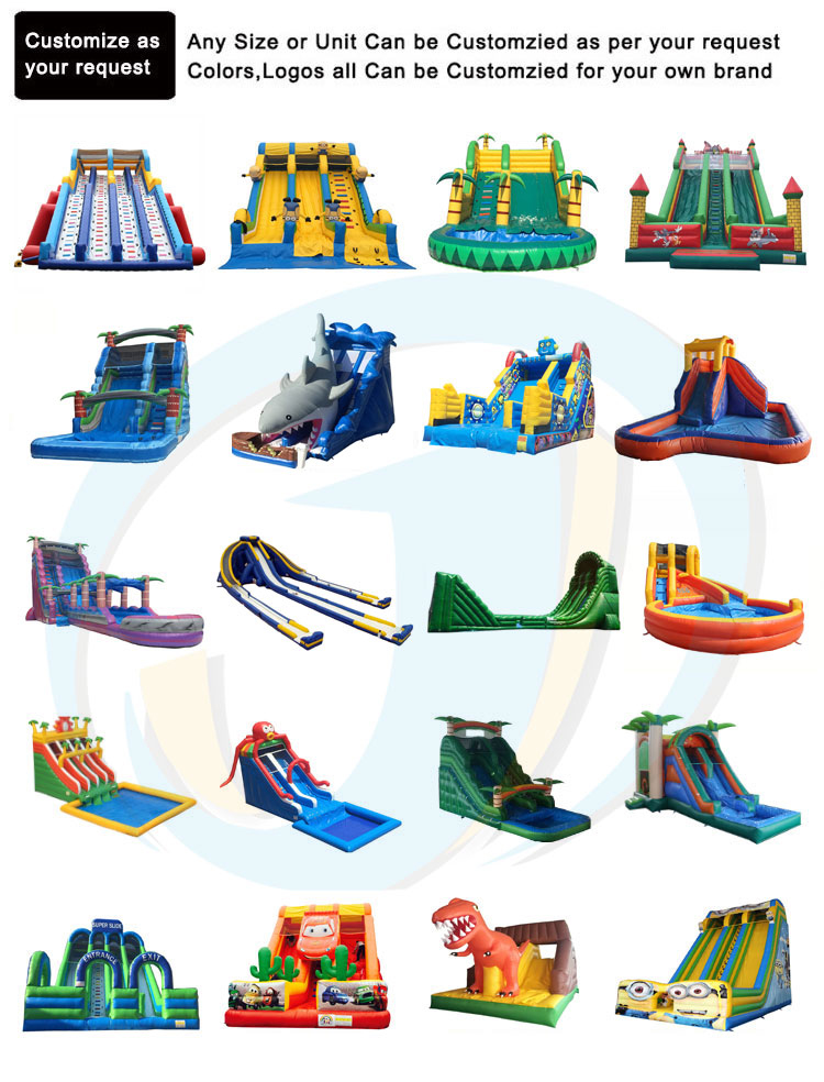 Big Inflatable Clown Bouncer Slides Cheap Prices Kids Adult Fun City Playground Air Bouncy Jumping Stair Castle Slide For Sale