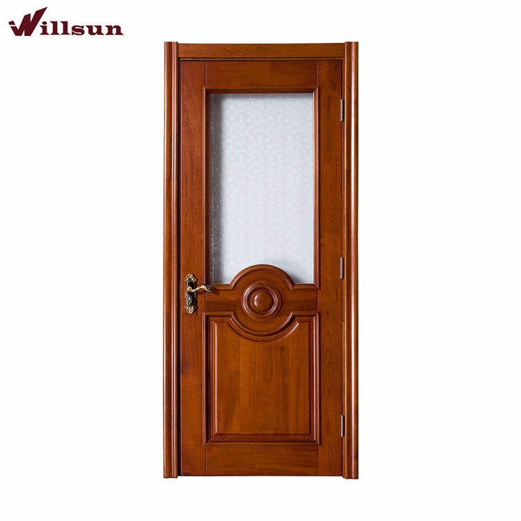 Half Glass Interior Wood Doors Supplieranufacturers At Alibaba Com