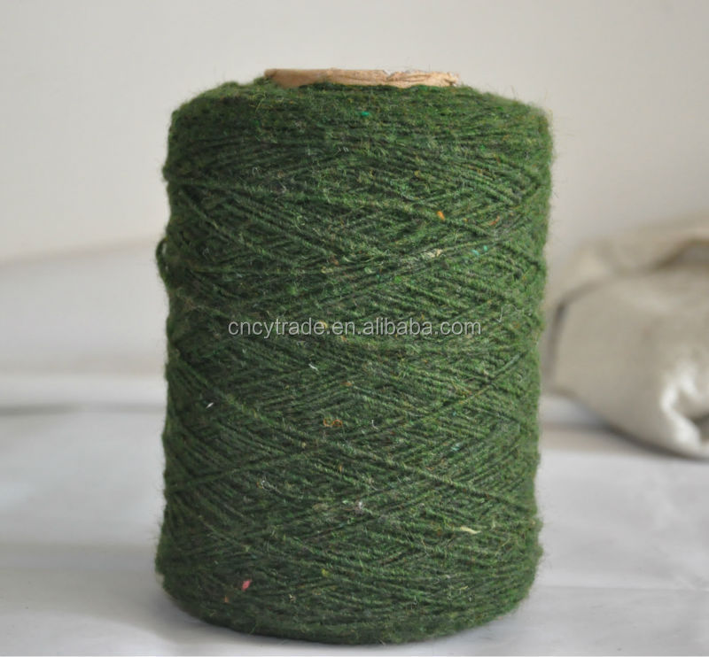 recycled cheap wool yarn