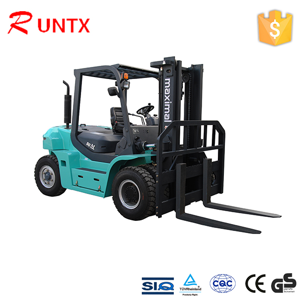 7ton diesel engine forklift truck , ce approved fork lift with diesel engine