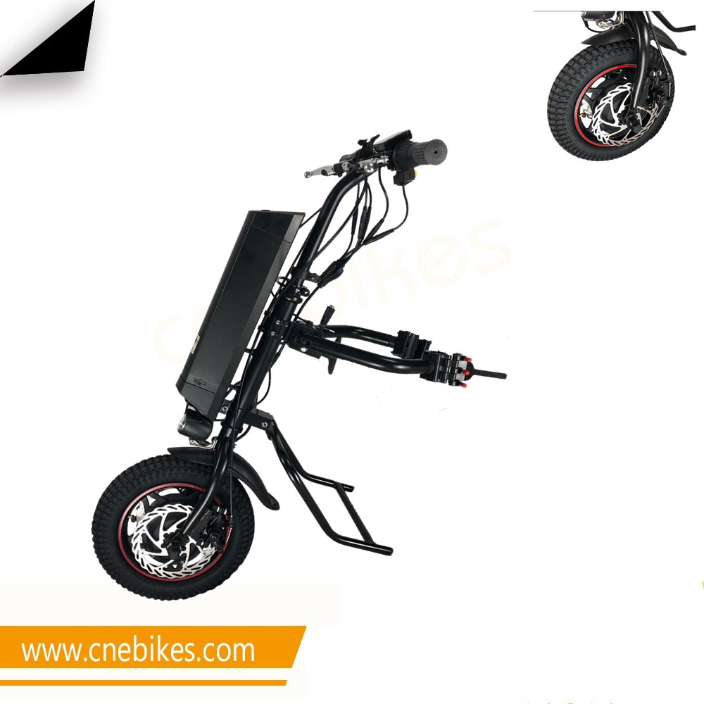 CNEBIKES Best Selling 12 electric wheelchair trike handcycle hand bike with 11.6ah import battery for disabled people