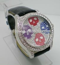 Italian brand hip hop crystal dial skeleton watch winner