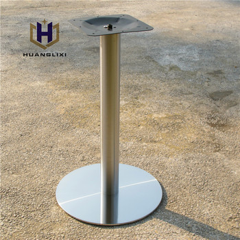 Round Stainless Steel Dining Table Legs
