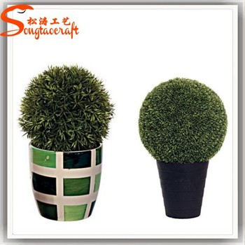 Genial Cheap Wholesale Outdoor Artificial Boxwood Topiary Grass Fake Plastic  Artificial Topiray Ball Wire Frame For Home