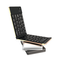 Mini Folding Bluetooth Keyboard For Smart Phone , Tablet pc and laptop