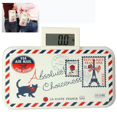 Wholesale Cat Pattern Ultra Portable Digital Human Weighing Scale
