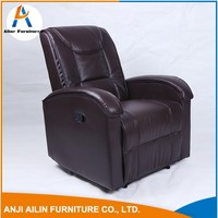 Home Furniture Single Office Sofa Chair Seater Leather Sofa For Lazy Boy