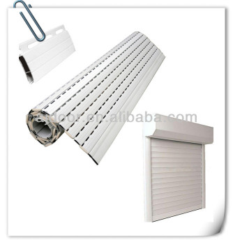 Aluminum Extrusion Double Layer Roller Shutter Slat Buy