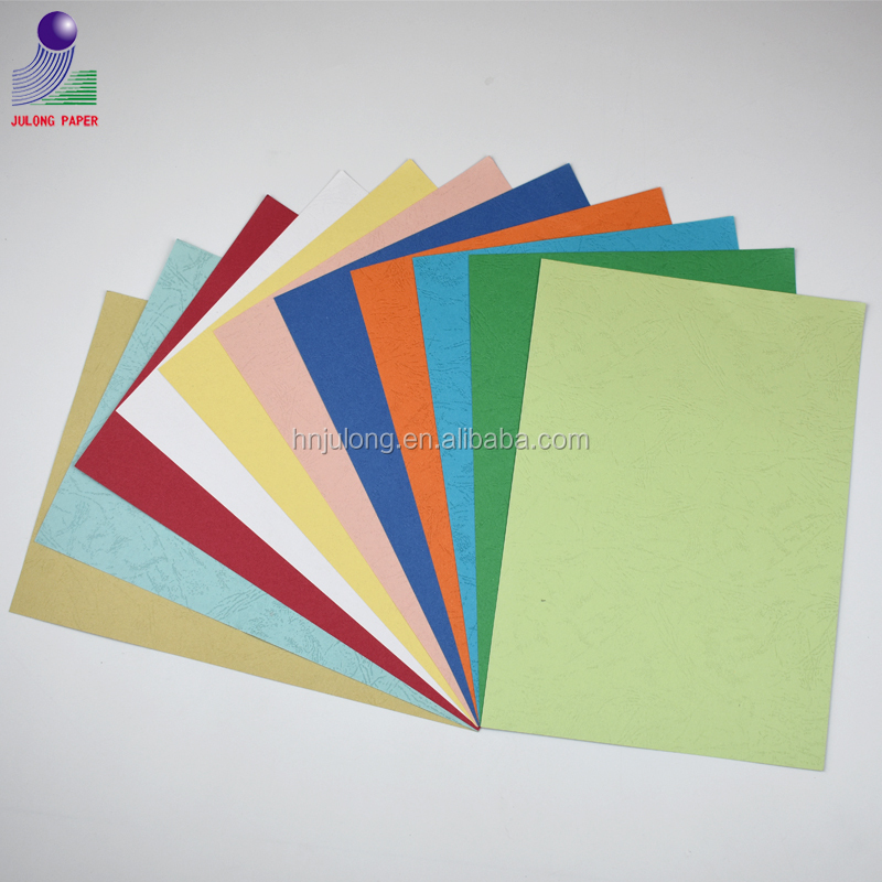 205g embossed cover cardboard/name card paper/leather paper
