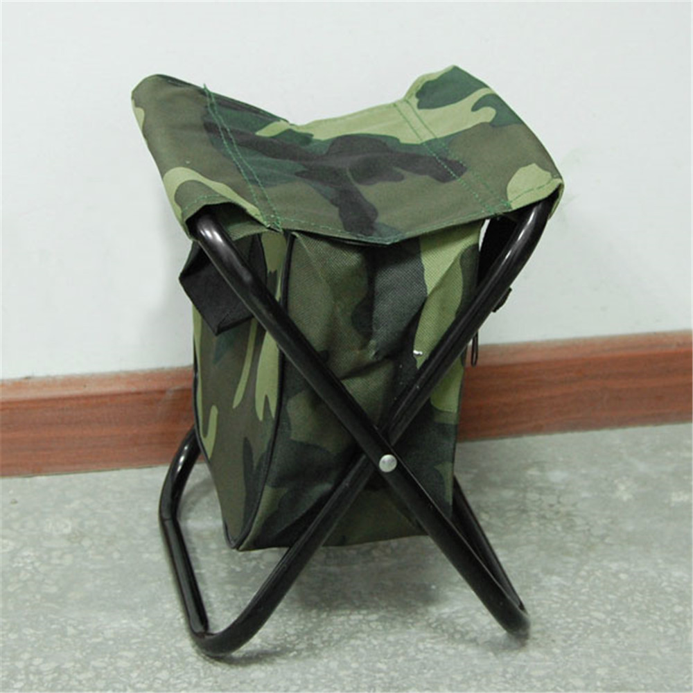 Camo Folding Camping Chair Stool Free Shipping Worldwide