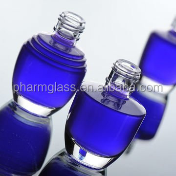 Nail polish cosmetic bottles