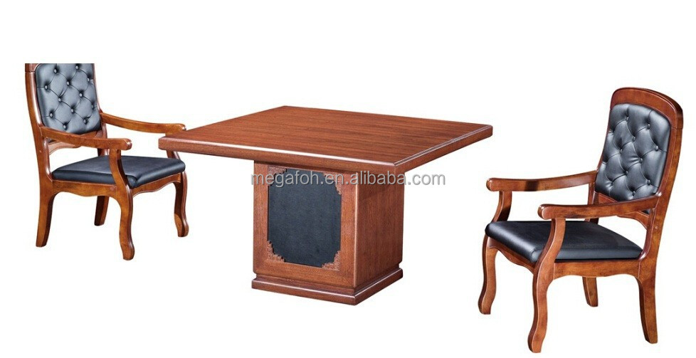 Top grade antique wooden negotiating table/meeting desk(FOH-8T7812)