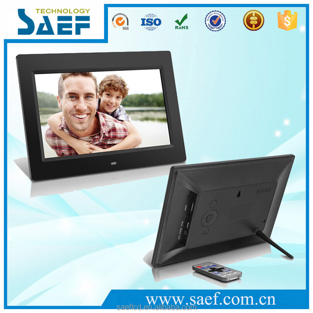 advertising display screen 10.1inch LCD Digital Photo Frame single version 1024x600