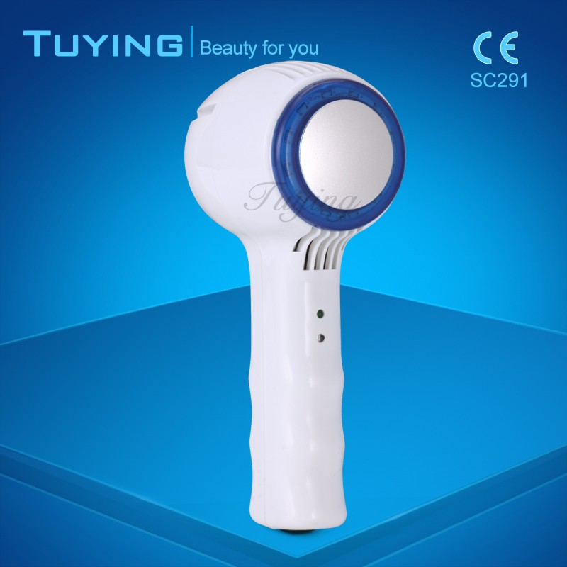 Multifunction beauty machine led hot and cold hammer for shrinking pores