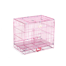 2016 New Gadgets Pink Dog Crate Outdoor Pet Cages Dog Kennel