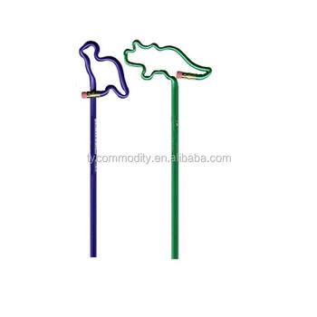 Promosi Mewarnai Baru Dinosaurus Berbentuk Pensil Kayu Dengan