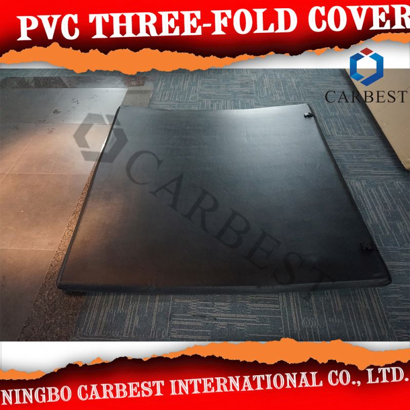 Best Quality PVC Three-Fold Soft Cover Bed Cover For Chevrolet Colorado 04-11
