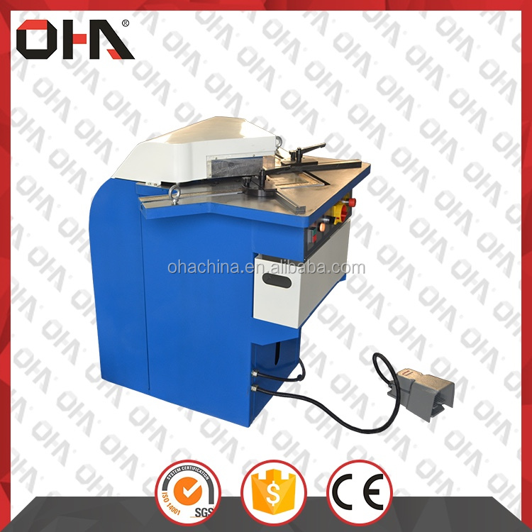 OHA 28Y-6x200 China Supplier New Hydraulic Notching Machine, Angle Notching Machine, Notcher Machine