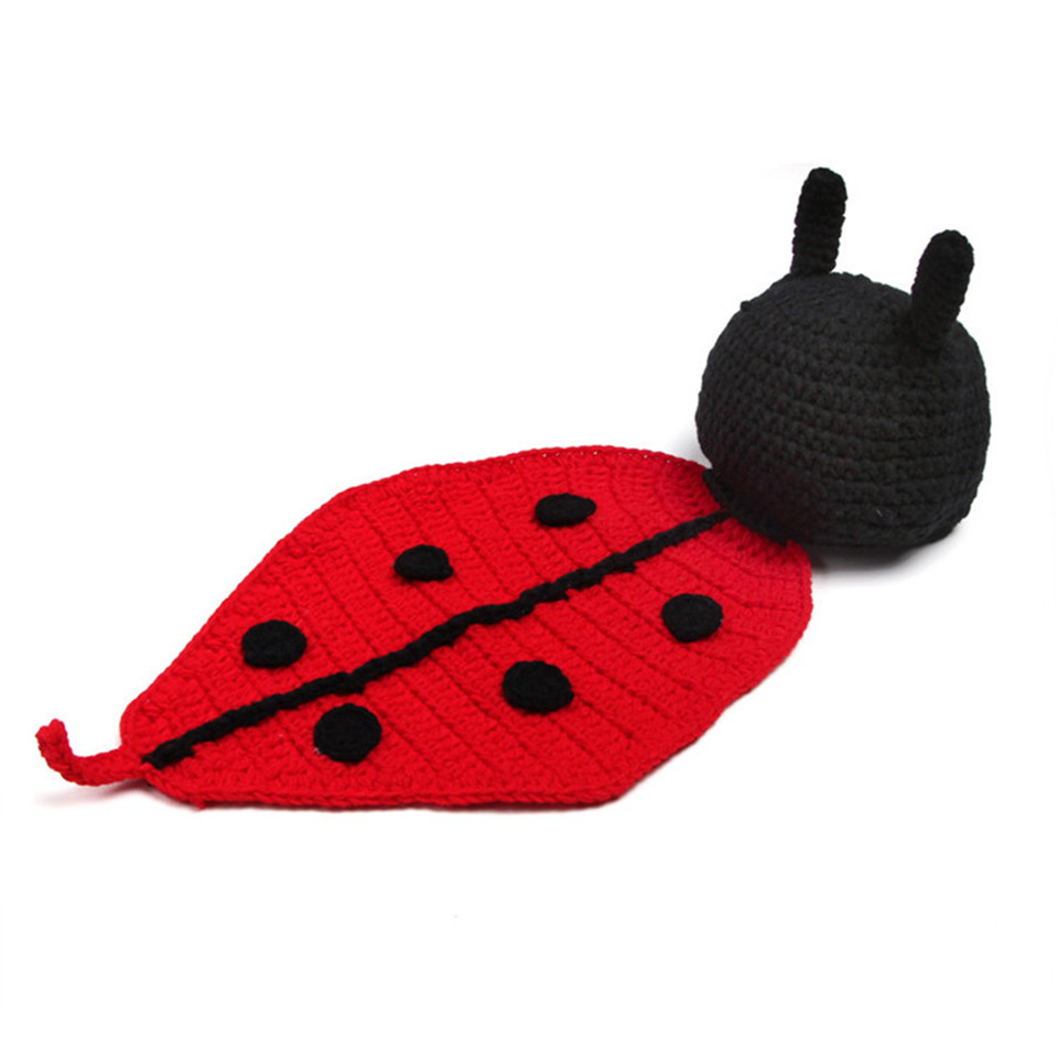 1fed49fcb48 Detail Feedback Questions about Retail Baby Ladybug Hat Cape Set ...