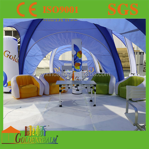 New design customized inflatable PVC sofa