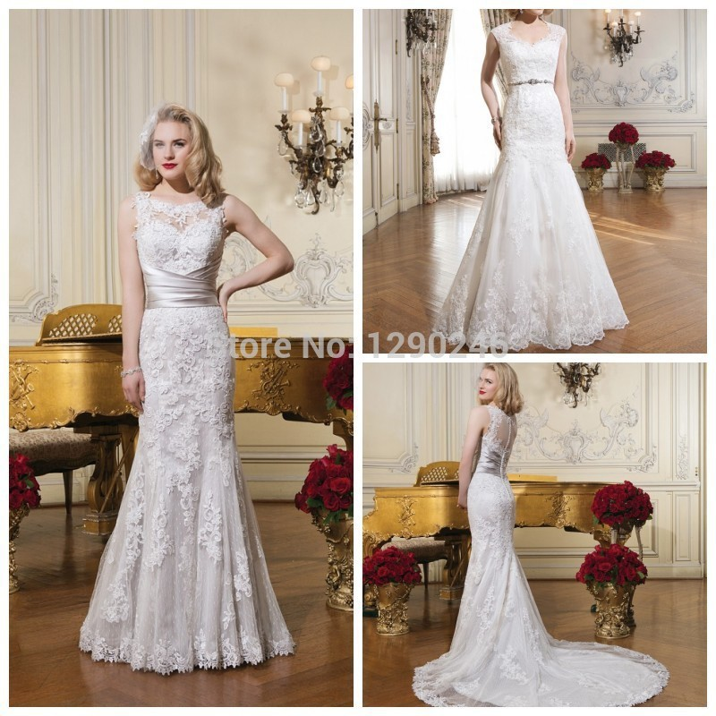Wedding Dresses With Detachable Tail: 9Stunning Couture Wedding Dress Mermaid Appliqued Beaded
