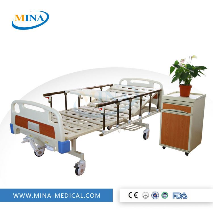 MINA-MB2003 Luxury ABS manual orthopedics traction hospital bed/orthopedics hospital equipment