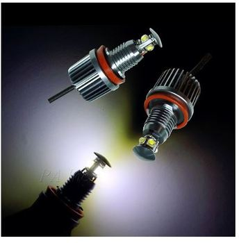 H8 40W 6000K Auto Head Light For BMW E92 E93 LED Marker Light Error Free Angel Eyes LED